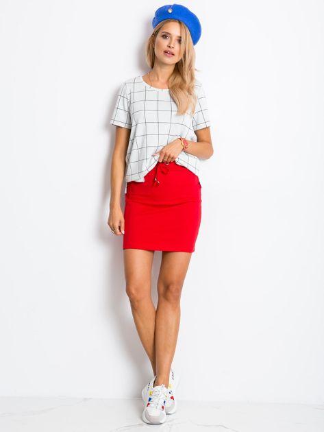Czerwona spódnica Increasingly                              zdj.                              4