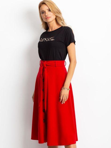 Czerwona spódnica Trust                              zdj.                              3