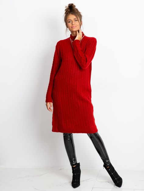 Czerwona sukienka Evermore                              zdj.                              5
