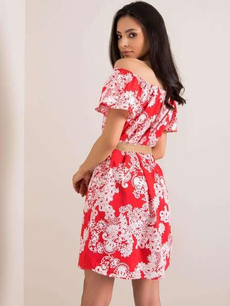 Czerwona sukienka Kittie