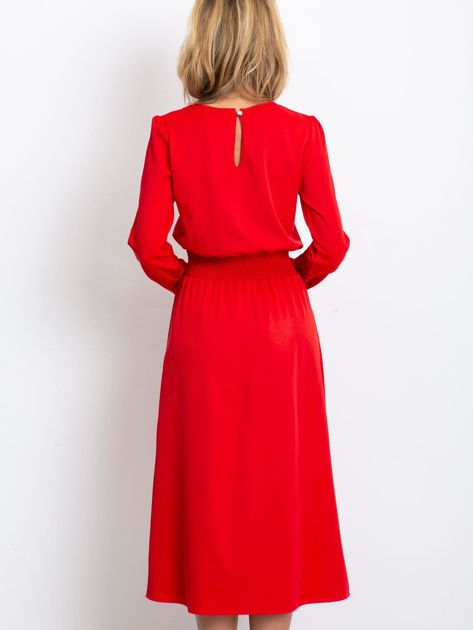 Czerwona sukienka Saffire                              zdj.                              2