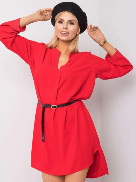 Czerwona sukienka Stella
