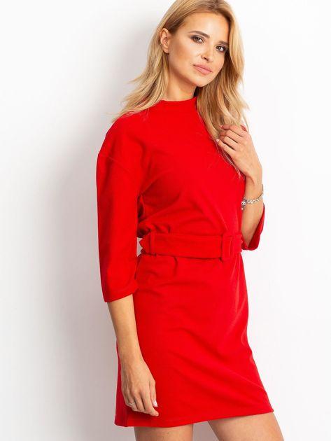 Czerwona sukienka Winner                              zdj.                              3