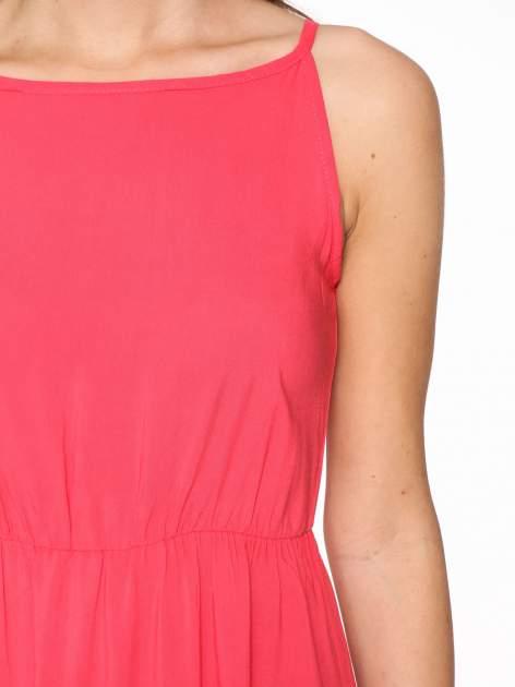 Czerwona sukienka w stylu greckim                                  zdj.                                  9