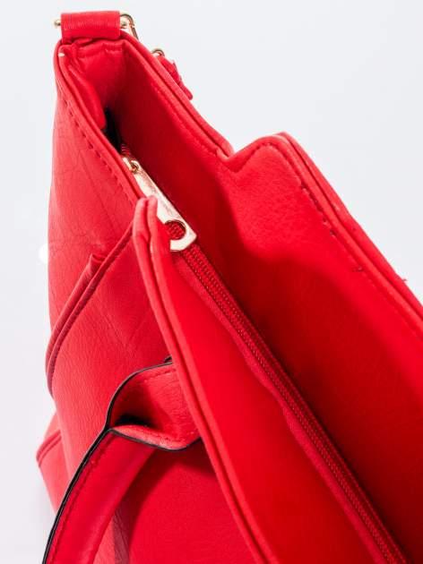 Czerwona torba shopper bag                                  zdj.                                  5