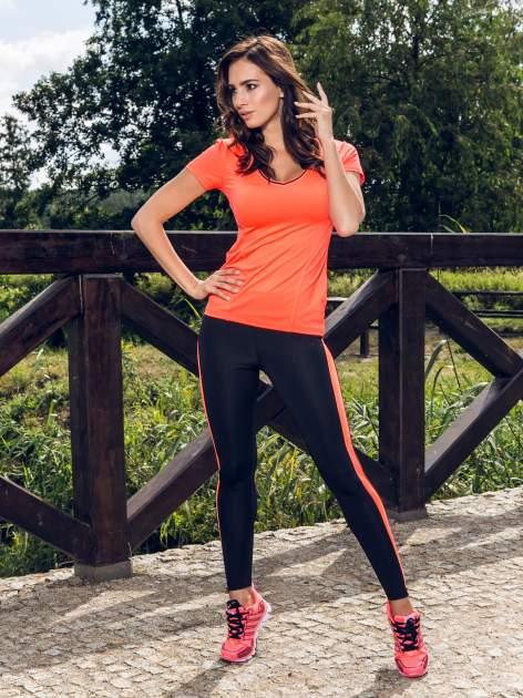 Czerwone buty sportowe textile Lovegame z elastyczną podeszwą                                  zdj.                                  5