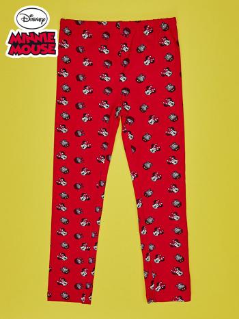 Czerwone legginsy dla dziewczynki MINNIE MOUSE                                  zdj.                                  1