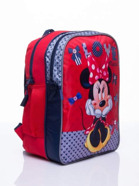 Czerwony plecak szkolny DISNEY Myszka Minnie                                  zdj.                                  3