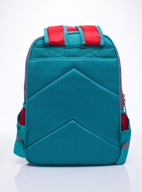 Czerwony plecak szkolny DISNEY w wisienki                                  zdj.                                  4