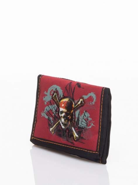 Czerwony portfel chłopięcy DISNEY Piraci z Karaibów                                  zdj.                                  3