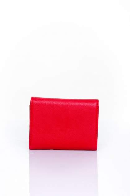 Czerwony portfel z kokardką                                  zdj.                                  2