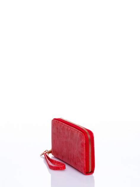Czerwony portfel z rączką                                  zdj.                                  2