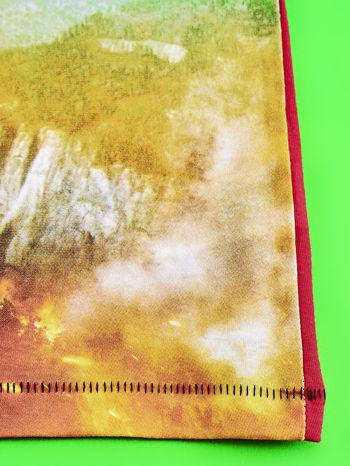 Czerwony t-shirt dziecięcy z nadrukiem SAMOLOTY                                  zdj.                                  5