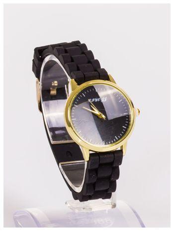 Damski zegarek z małą tarczą na silikonowym wygodnym pasku                                   zdj.                                  3