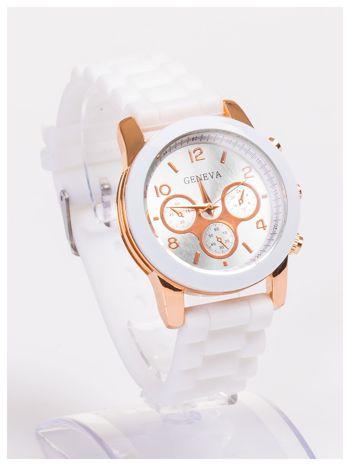 Damski zegarek z ozdobnym tachometrem, na wygodnym pasku                                  zdj.                                  3