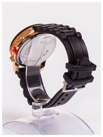 Damski zegarek z ozdobnym tachometrem, na wygodnym pasku                                  zdj.                                  4