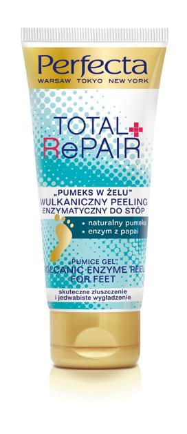 """Dax Cosmetics Perfecta Peeling enzymatyczny do stóp """"Pumeks w żelu""""  80g"""""""