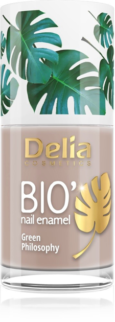 "Delia Cosmetics Bio Green Philosophy Lakier do paznokci nr 617 Banana  11ml"""