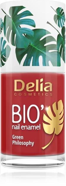 "Delia Cosmetics Bio Green Philosophy Lakier do paznokci nr 632 Date  11ml"""