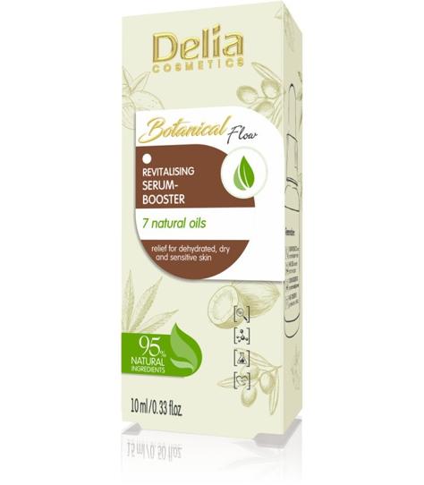 """Delia Cosmetics Botanic Flow Serum-Booster rewitalizujące - 7 olejków 10ml"""""""