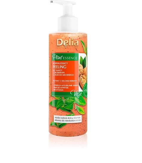 """Delia Cosmetics Plant Essence Normalizujący Peeling do twarzy  200ml"""""""