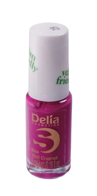 "Delia Cosmetics Vegan Friendly Emalia do paznokci Size S nr 219 Coll Girl 5ml"""