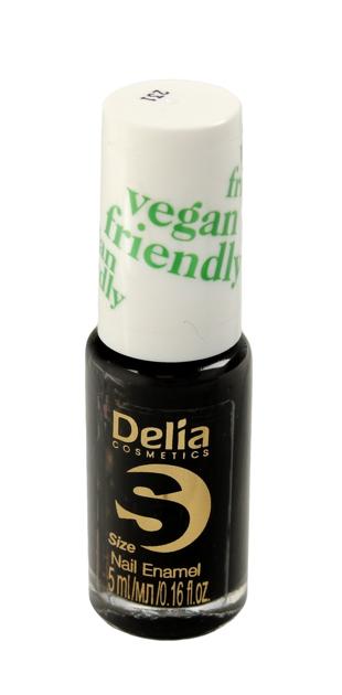 "Delia Cosmetics Vegan Friendly Emalia do paznokci Size S nr 231 Black Orchid  5ml"""