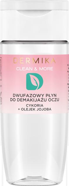 """Dermika Clean & More Dwufazowy Płyn do demakijażu oczu 120ml"""""""