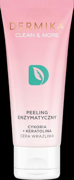 """Dermika Clean & More Peeling enzymatyczny do cery wrażliwej 75ml"""""""