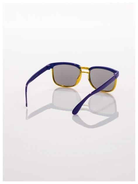 Dziecięce niebieskio-złote okulary przeciwsłoneczne z filtrami                                  zdj.                                  3