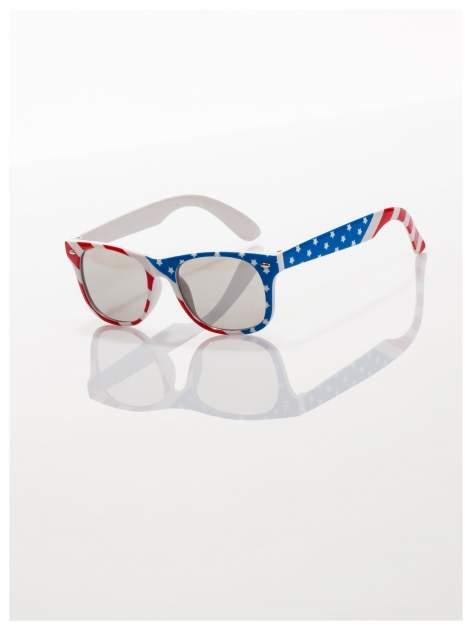 Dziecięce okulary z klasyczną oprawką WAYFARER NERD z filtrami odporne na wyginania                                  zdj.                                  1