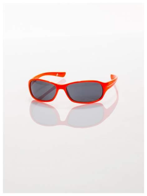 Dziecięce pomarańczowe okulary z filtrami                                  zdj.                                  2