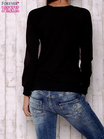 Ecru bluza z nadrukiem pand                                  zdj.                                  2