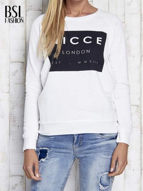 Ecru bluza z napisem NICCE LONDON                                  zdj.                                  1