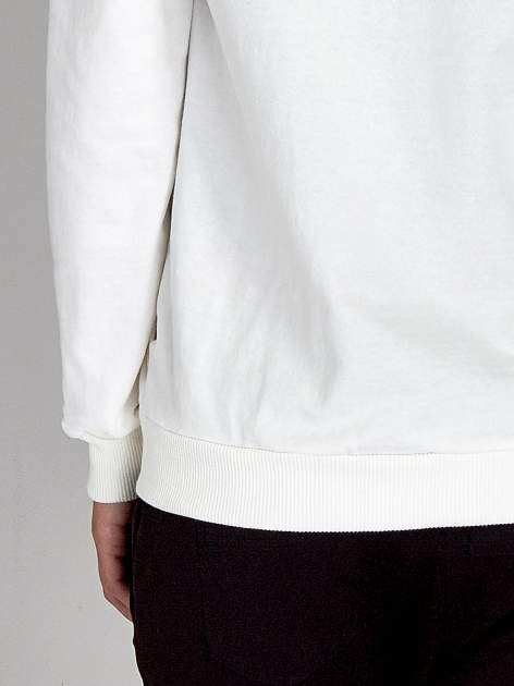 Ecru damska bluza z kapturem i napisem SEATLE 1990                                  zdj.                                  7