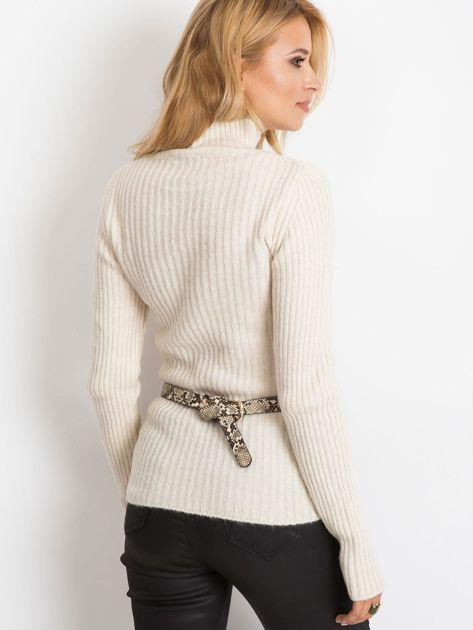 Ecru sweter Milo                              zdj.                              2