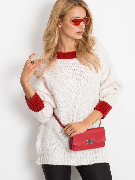 Ecru sweter Pretty                              zdj.                              5
