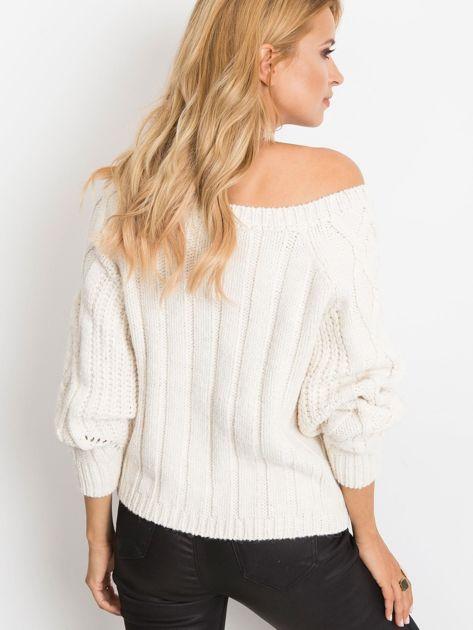 Ecru sweter Tulsa                              zdj.                              2