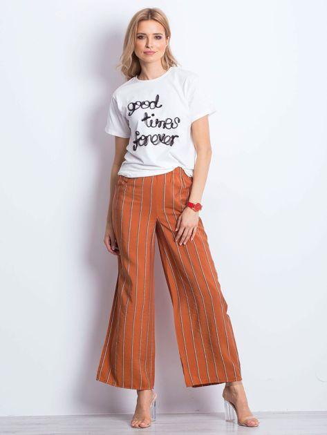 Ecru t-shirt Good Times Forever                              zdj.                              5