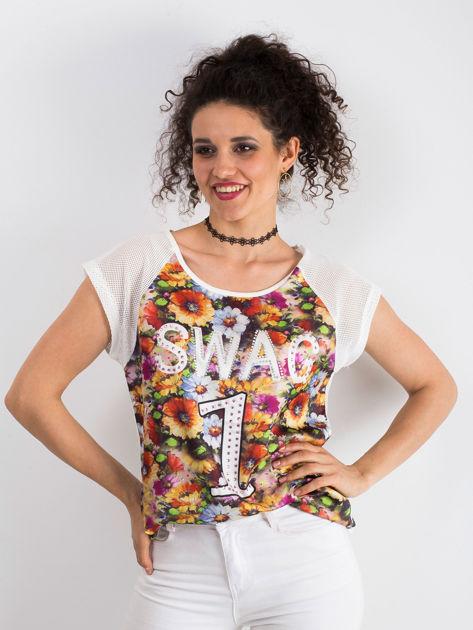Ecru t-shirt Stunning                              zdj.                              1