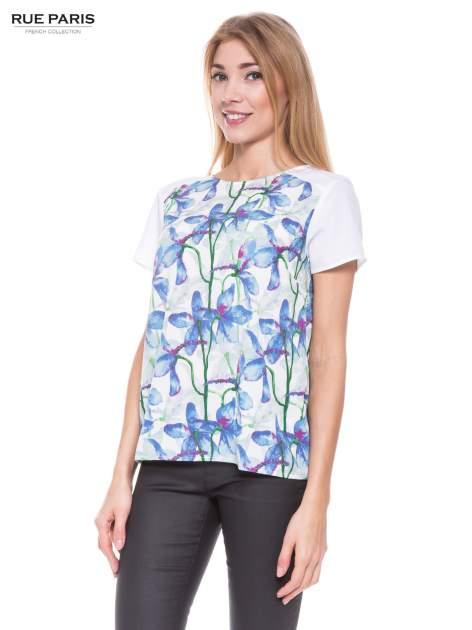 Elegancka koszula w kwiaty