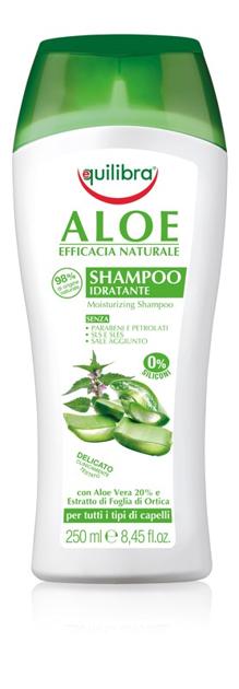 """Equilibra Naturale Szampon aloesowy do włosów  250ml"""""""