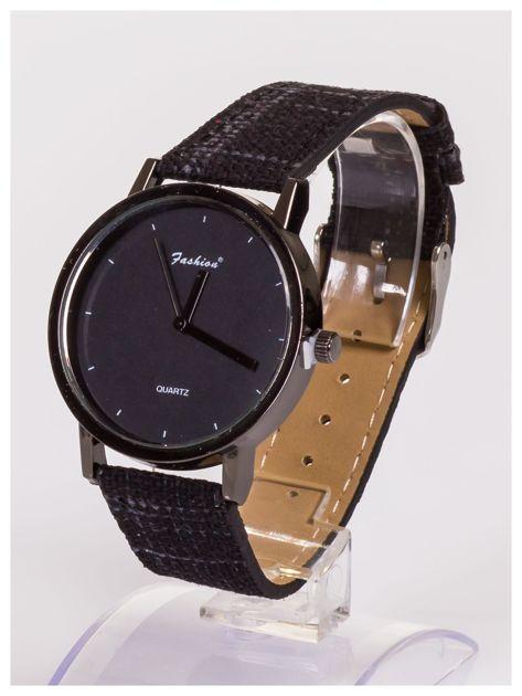 FASHION nowoczesny czarny zegarek                               zdj.                              2