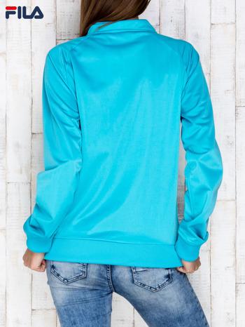 FILA Niebieska bluza zapinana na suwak