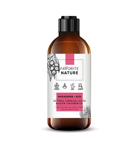 """Favorite Nature Odżywka chroniąca kolor włosów farbowanych - Makadamia i Algi  250ml"""""""