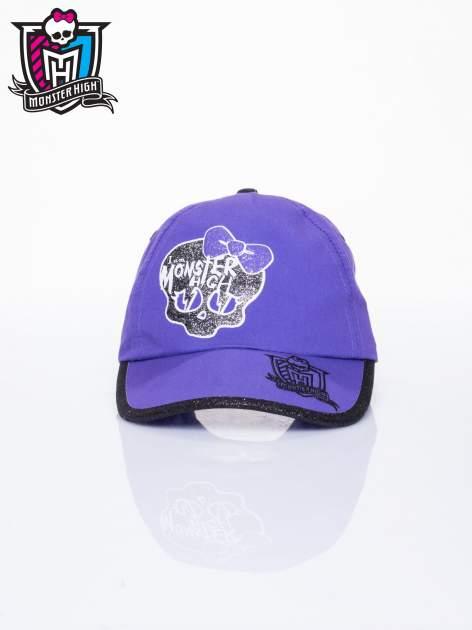 Fioletowa czapka z daszkiem dla dziewczynki MONSTER HIGH                                  zdj.                                  1