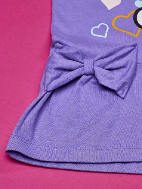 Fioletowa sukienka dla dziewczynki HELLO KITTY                                  zdj.                                  3