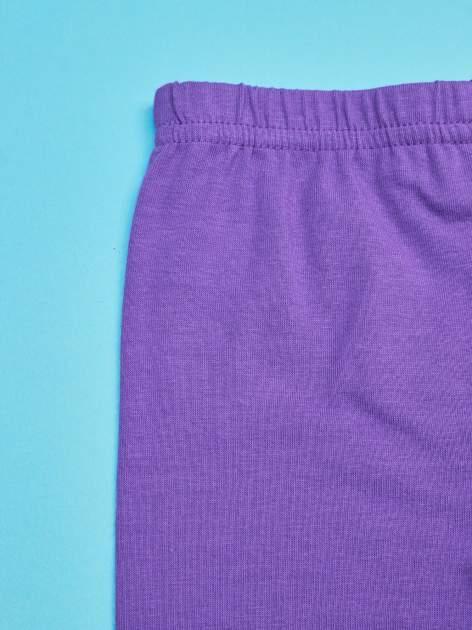 Fioletowe legginsy dla dziewczynki motyw MY LITTLE PONY                                   zdj.                                  3