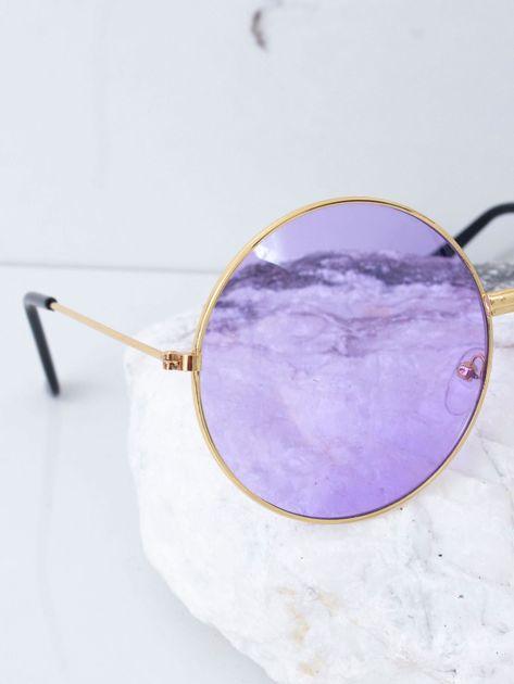 Fioletowe okulary hippie                              zdj.                              3