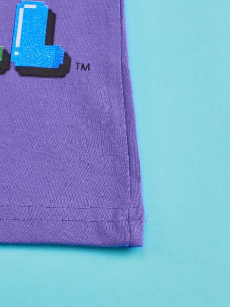 Fioletowy t-shirt chłopięcy GUMBALL                                  zdj.                                  4